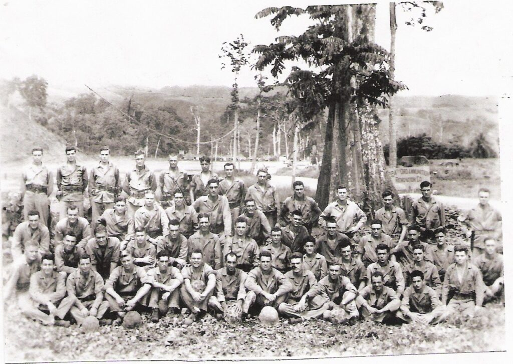 6th Marine Division Platoon, World War II