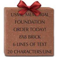 8x8 brick ribbon